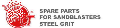 Spare parts for sandblasters and Steel grit - COMPO-TEC